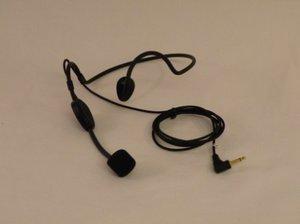 ChatterVox - headset mikrofon (sort)