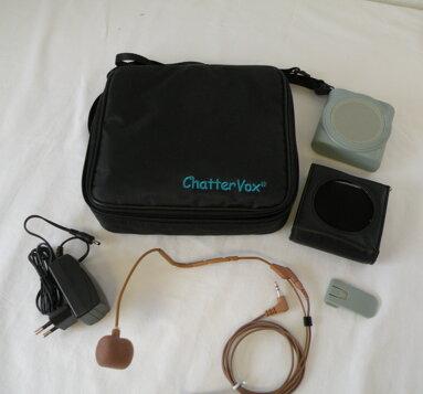 ChatterVox Amplio -  m/headsetmikrofon (hudfärgad)